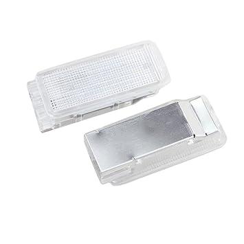 PerGrate perg Transferencia 2pcs lámpara de Luces LED para Maletero para Peugeot 1007 206 207 306 307 308 406 407 RCZ: Amazon.es: Coche y moto