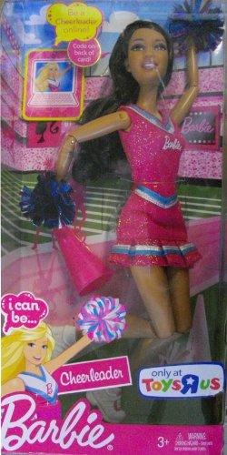 Mattel Barbie I Can Be Doll - Cheerleader - - Megaphone Barbie