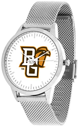 Bowling Green Falcons - Mesh Statement Watch - Silver ()