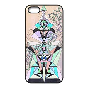 Hot Various AXL386900 Durable Phone Hard Back Case For Iphone 5,5S Phone Case w/ Aztec Design