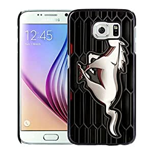 Ford Mustang Black Cool Abstract Picture Case For Samsung Galaxy S6 Phone Case