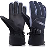OKELAY Ski Gloves Men Waterproof, Unisex...