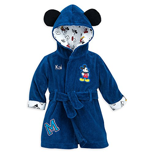 Disney Mickey Mouse Hooded Bath Robe for Baby - Multi
