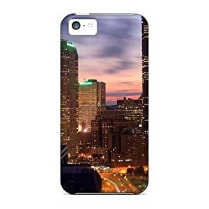 MMZ DIY PHONE CASESpecial Williams6541 Skin Case Cover For ipod touch 5, Popular Pittsburg Downtown Phone Case