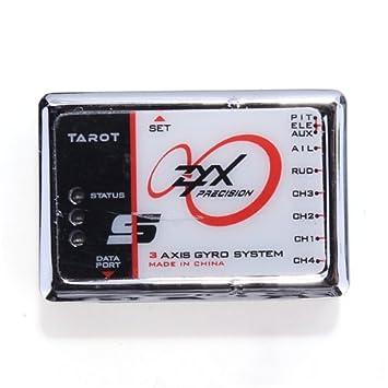 Zyx-s 3-axis flybarless system w/usb program adapter sklep kamami.
