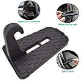 #10: GOSETH for Car Doorstep, Aluminum Alloy Vehicle Pedal Easy Access to Car Rooftop Roof-rack, Car Doorstep Hook Foot Pegs Treadle for Car, Jeep, SUV.