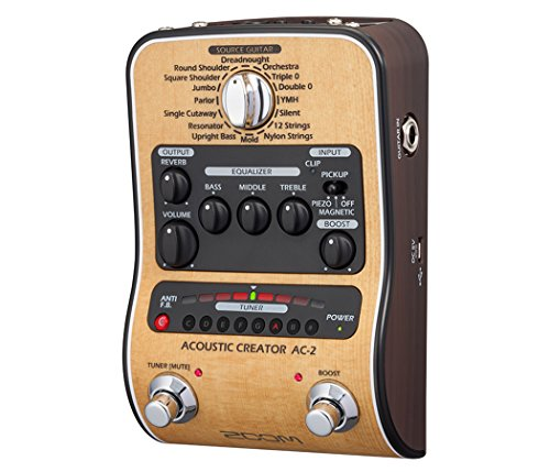 Zoom AC-2 Acoustic Guitar Effect Pedal 5