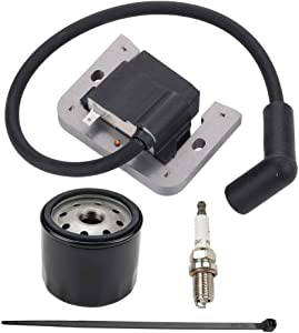 Mengxiang 20 584 01-S 20 584 03-S Ignition Coil Module for Kohler Courage SV480 SV530 SV540 SV610 SV620 15 16 17 18 HP Lawn Mower Tractor Toro 74360 74363