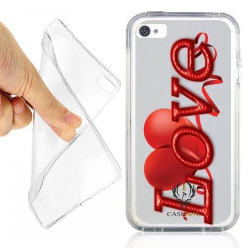CUSTODIA COVER CASE LOVE SAN VALENTINO PER IPHONE 4S OPACO