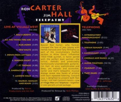 Telepathy: Jim Hall; Ron Carter: Amazon.es: Música