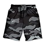 Lacrosse Unlimited Night Camo Boys Lacrosse Shorts with Deep Side Pockets and Elastic Waistband-Youth-Small