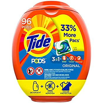 Amazon Com Tide Pods 3 In 1 He Turbo Laundry Detergent