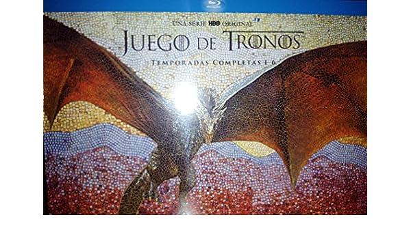 Pack Juego de Tronos Edición Coleccionista Temporadas 1-6 Blu-ray: Amazon.es: Cine y Series TV