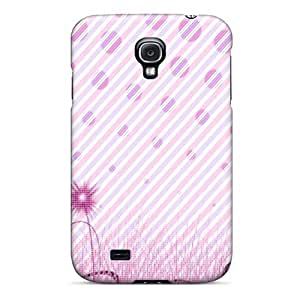 Galaxy S4 Flowers Print High Quality Tpu Gel Frame Case Cover