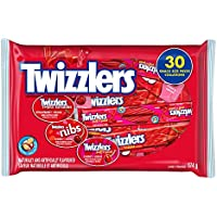 TWIZZLERS Licorice Halloween Candy Assortment, 30 Count, 374 Gram