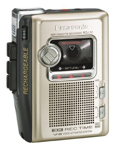 Panasonic RQ-L51 Cassette Recorder by Panasonic (Image #1)