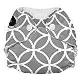 Imagine Baby Products Newborn Stay Dry All-In-One Snap Cloth Diaper, Ring-a-Ding