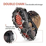 SHARKMOUTH Ice Cleats Crampons Traction, Ice Snow
