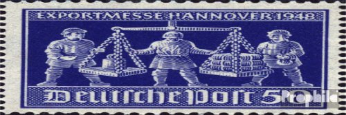 - Allied cast.-community.issue. 970IV, h of hANNOVER damaged (Field 40) 1948 Export Fair (Stamps for collectors)