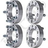 "Scitoo 4pc | 2.0 inch thick | 5x5.5 to 5x5.5 Wheel Spacers | 9/16"" Stud 