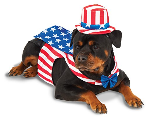 Rubie's Uncle Sam Big Dog Boutique, (Halloween Costumes For Labradors)