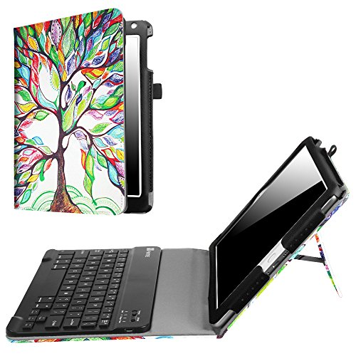 Fintie iPad 9.7 2018 2017 / iPad Air 2 / iPad Air Keyboard Case - Folio Stand Cover with Removable Wireless Bluetooth Keyboard for Apple iPad 6th / 5th Gen