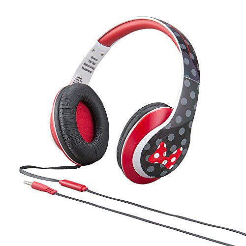 Minnie Over-the-Ear Headphones with in-line mic ( Di-M40ME.FXv2) (Cd Player Holster)