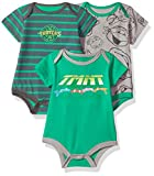 ninja turtles baby boy clothes - CAN Nickelodeon Baby -Boys Newborn Ninja Turtle 3 Piece Creeper Set, Green, 3-6 Months