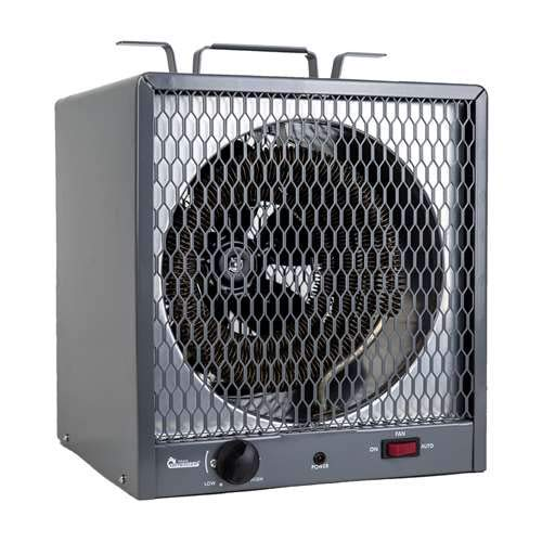 Dr. Infrared Heater DR-988 Garage Shop 208/240V, 4800/5600W Heater with 6-30R Plug