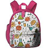 Kid's Pre School Backpack Boy&girl's Color Chemistry Book Bag