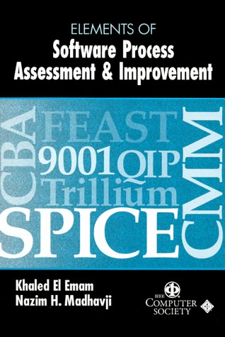 0818685239 - Khaled El Emam; Nazim H. Madhavji: Elements of Software Process Assessment & Improvement - Buch