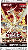 Yugioh 1x Ignition Assault English Booster Pack Buy 5 get a Free Pack of 7 Dice