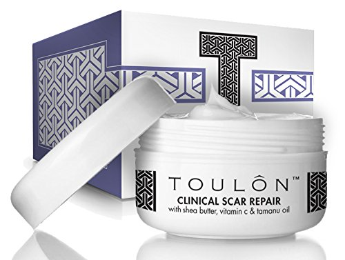 Scar Removal Cream to Best Remove Old & New Scars with Shea (Cell Roller Leg)