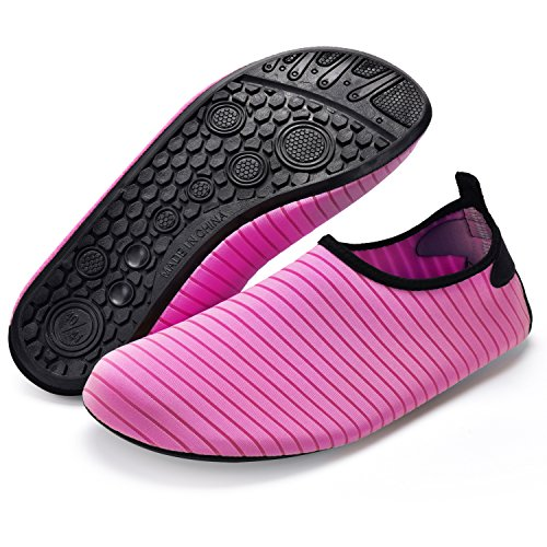 Socks Water Bridawn Men Quick Rose Dry Shoes Women Barefoot and Shoes for 8WBWq1Fd