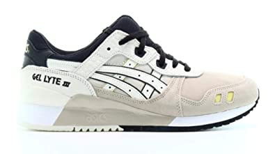 41a52193f6 Amazon.com | ASICS Tiger Men's Gel-Lyte III Sneakers, Feather Grey ...