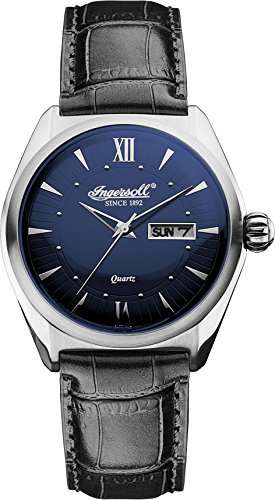Ingersoll Men's INQ002BLSL Hanover Analog Display Japanese Quartz Black Watch