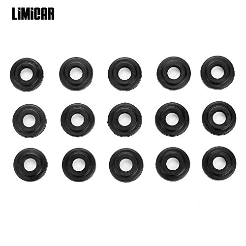 LIMICAR Engine Valve Cover Gasket Bolt Seals For BMW E36 E39 E46 E53 E60 E61 E65 E66 E83 323Ci 323i 323is 328i 325i 330i 525i 740i M3 M5 X3 X5 11121437395
