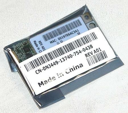 Dell Boadcom BCM94321MC  802.11n/b/g Wireless Wifi WLAN Mini PCI-E Laptop Board Card for Selected Dell Models Mini Pci Wireless Board