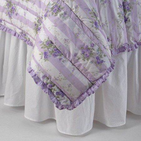 New Snow White Bedskirt Full (Bedskirts Shabby Chic)