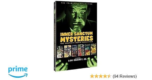 Amazon com: Inner Sanctum Mysteries: The Complete Movie Collection
