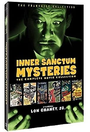Amazon com: Inner Sanctum Mysteries: The Complete Movie Collection