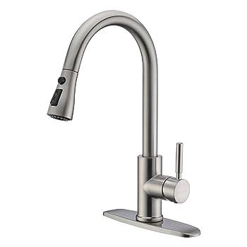 WEWE 3T01L High-arc Kitchen Faucet