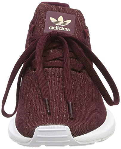 adidas Damen Swift Run Gymnastikschuhe Braun (Maroon/maroon/ftwr White)