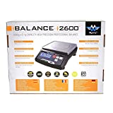 My Weigh SCM2600BLACK iBalance 2600 Table Top