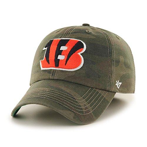 NFL Cincinnati Bengals Harlan Franchise Fitted Hat, X-Large, Sandalwood ()