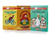 Scholastic (Curious George / Red Riding Hood / Giggle,Giggle,Quack)