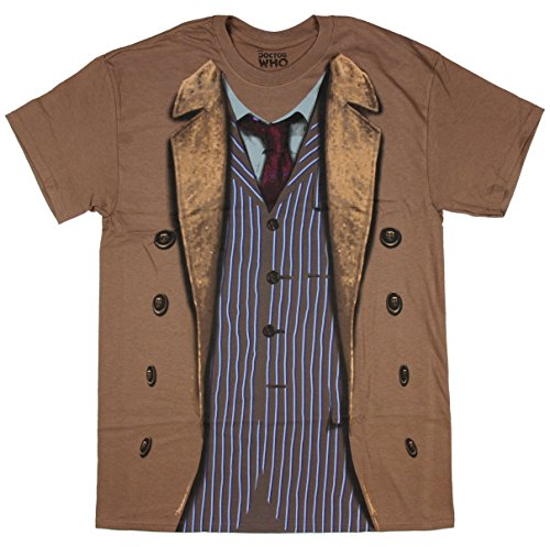 [Doctor Who 10th Doctor Costume Sound of Drums Mens T-Shirt (XX-Large)] (David Tennant Who Costume)