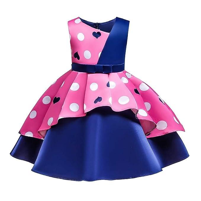 MallFun Chicas Bowknot Vestido de Princesa Traje de Boda de ...