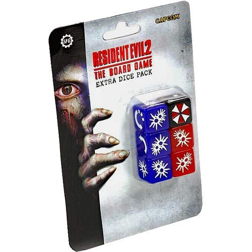 Steamforged Games Resident Evil 2 Extra Dice Set STEAM FORGED GAMES SFRE2-006