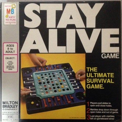 1971 STAY ALIVE Marble Game -Milton Bradley by Milton Bradley